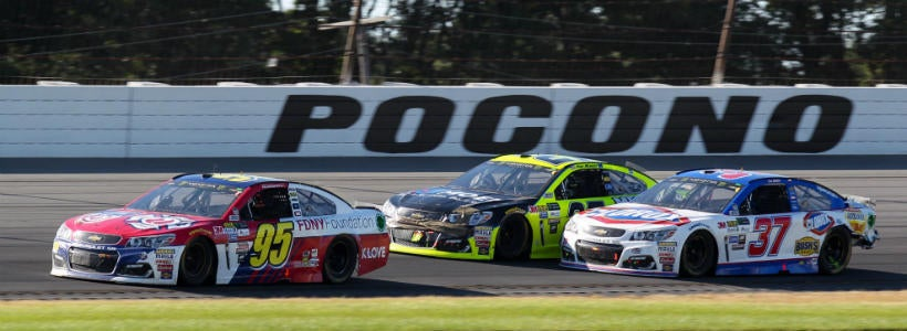 Projected NASCAR leaderboard for the 2019 Pocono 400