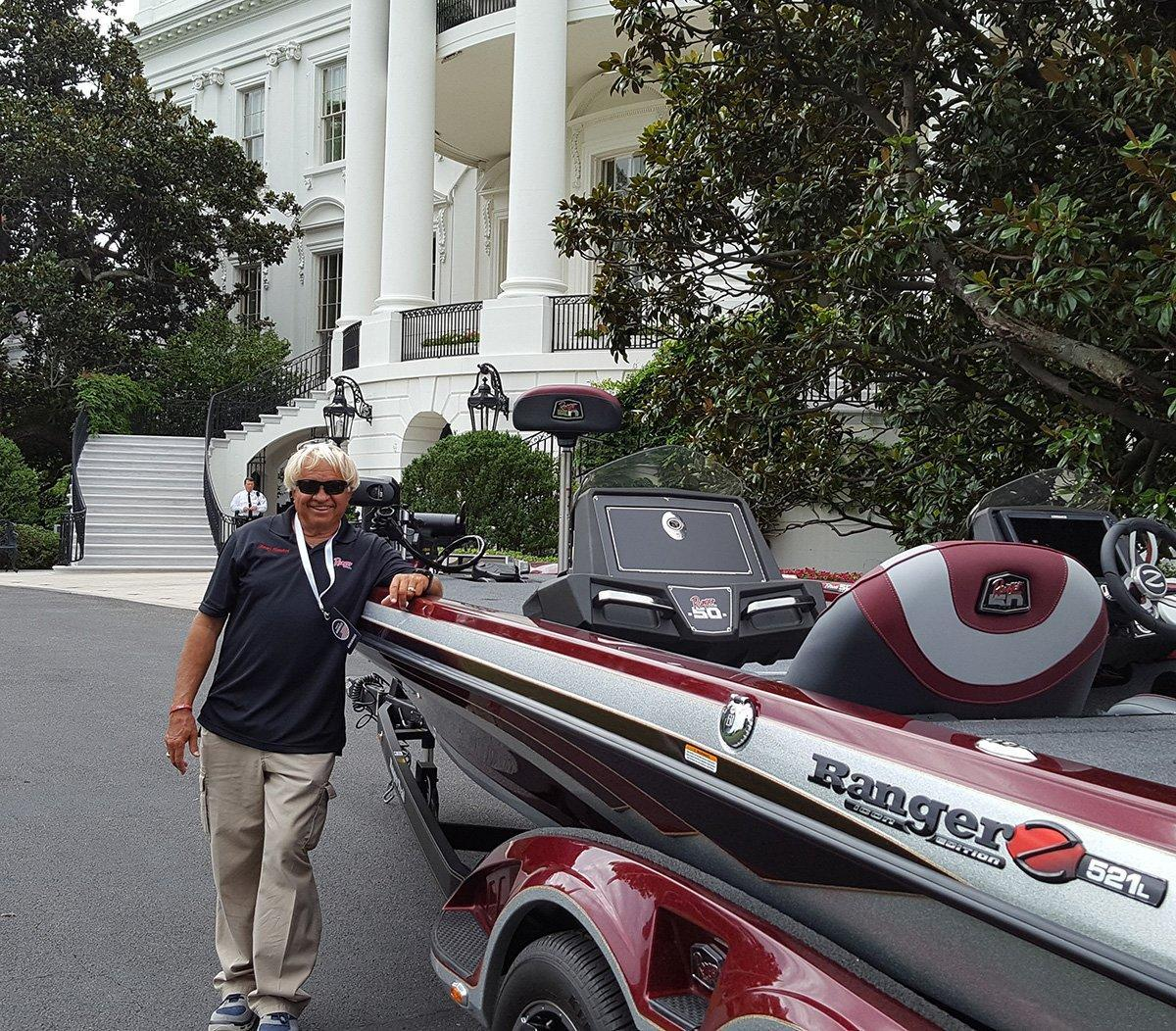 Ranger Boats Visits White House - Wired2Fish com