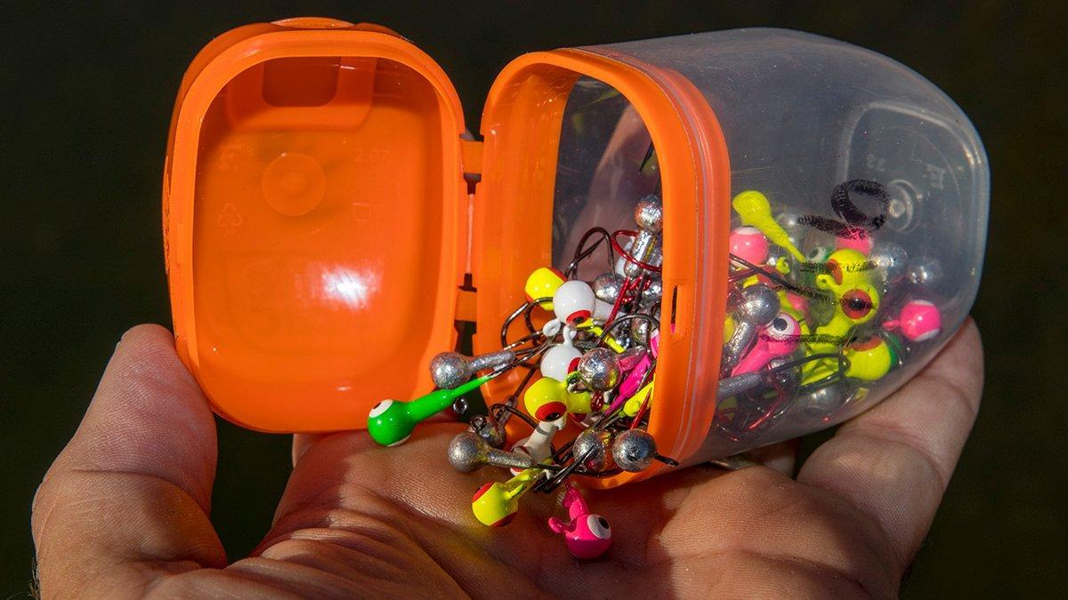 An Easy Hack to Store Small Fishing Jigheads and Terminal Tackle