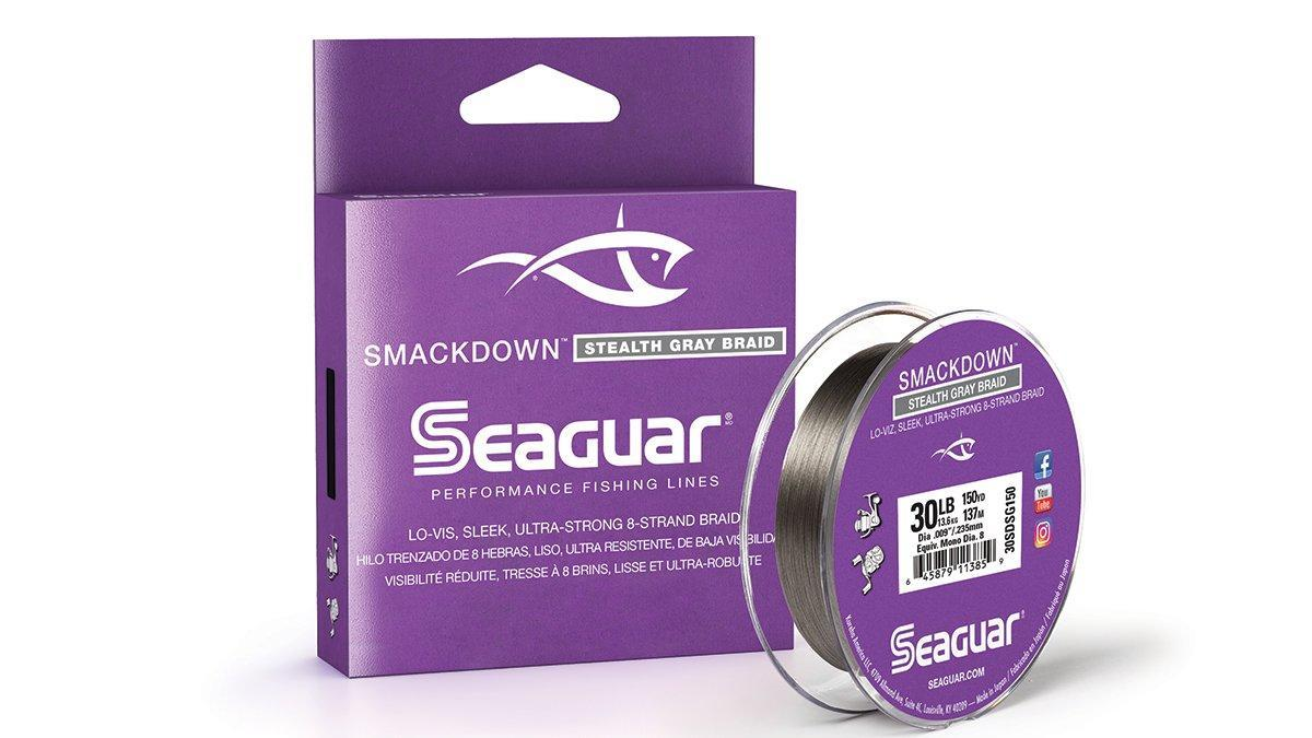 Seaguar Smackdown Stealth Gray