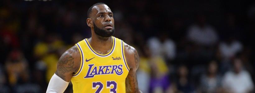 huge discount 576e9 1b786 Computer model picks Lakers-Cavaliers as LeBron returns to ...