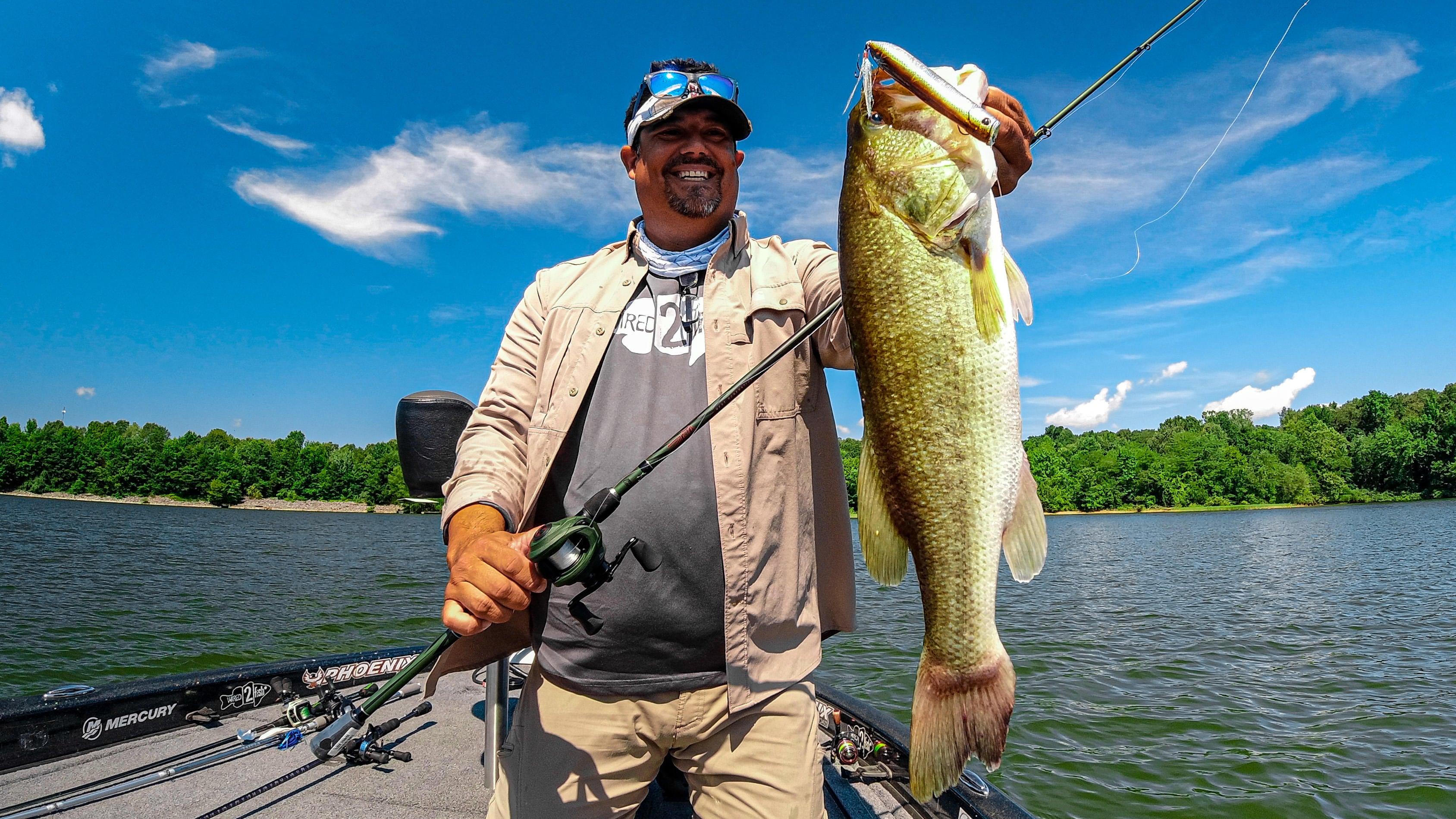 Jason Berkley Cane Walker Big Largemouth Bass