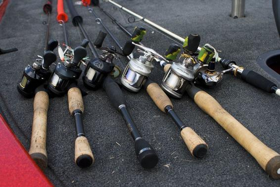 6 Rod and Reel Bass Fishing System | Rods - Wired2Fish com