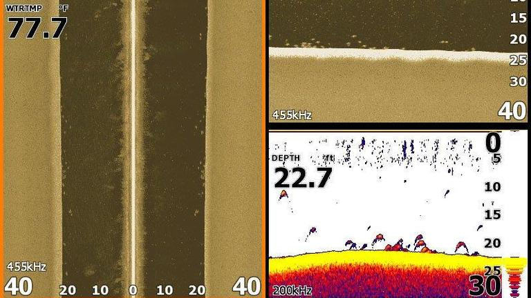 Finding Bass with Sonar, Imaging and Mapping