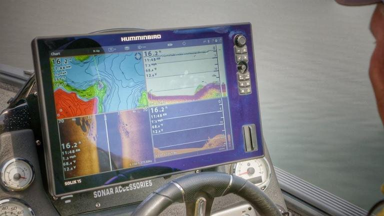 Comparing Fish on 2D Sonar and Down Imaging - Wired2Fish com