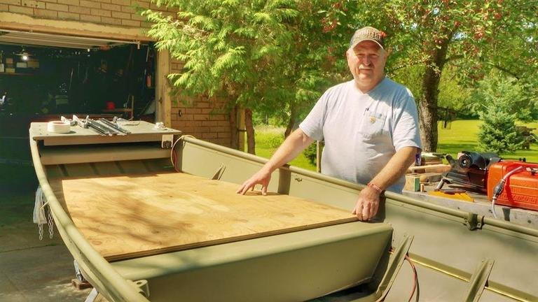 How To Build A Custom Jon Boat Casting Deck Wired2fish Com