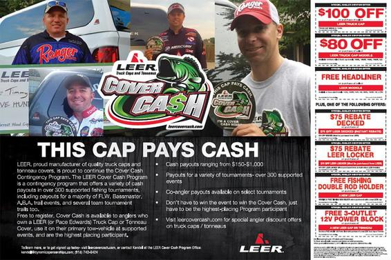 2017 LEER Coupons Available for Anglers - Wired2Fish com
