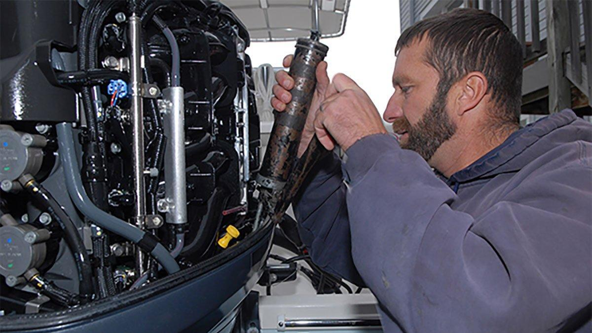 DIY: Winterize Your Four-Cylinder Outboard - Wired2Fish com