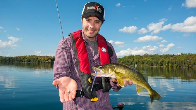 Learn How to Drop Shot Big Walleyes - Wired2Fish com