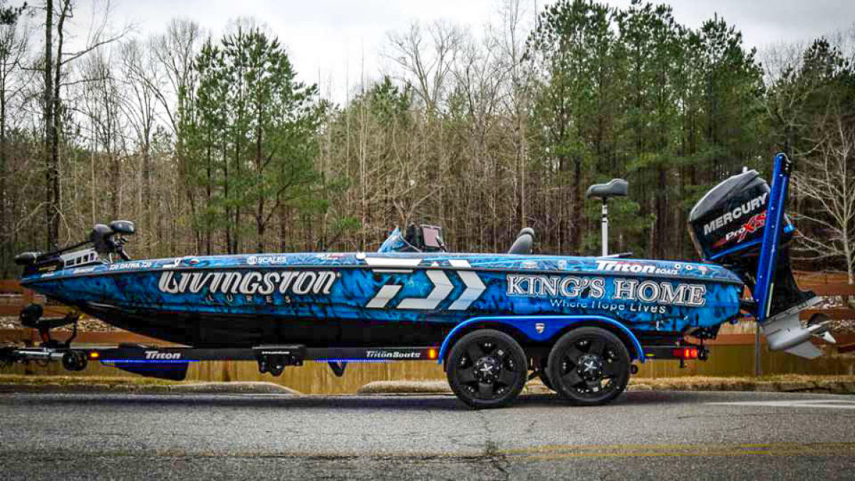 Randy Howell Kings Home Boat Giveaway - Wired2Fish com