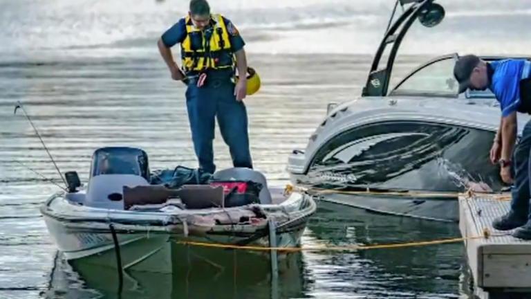 angler dead one remains missing after boat crash
