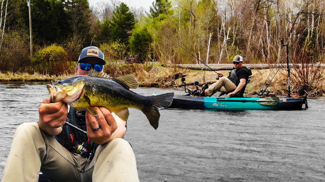 dcb2a67d Wacky Rigging Springtime Bass From Kayaks