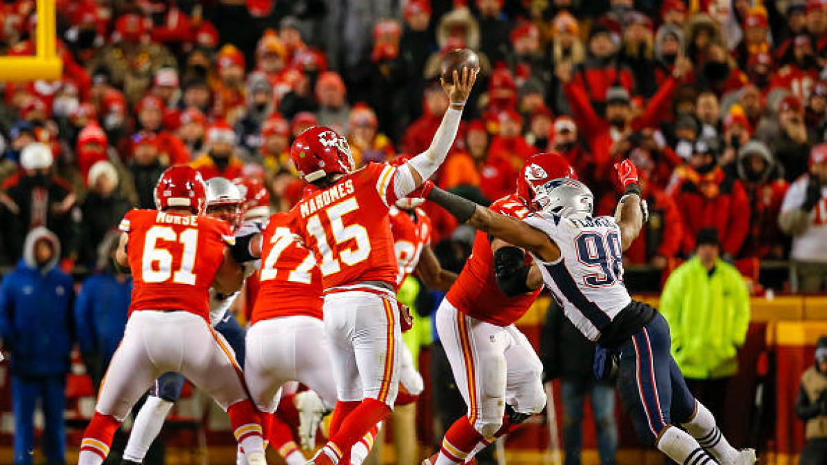 NFL Power Rankings: Chiefs Are #1, But Patriots are #1 in