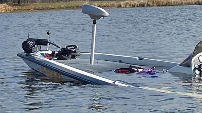 high school angler ejected in bass boat accident