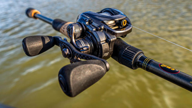 Baitcast Fishing Reel Lew/'s Custom Speed Shop